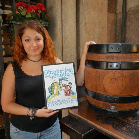 Il Logo Oktoberfest Genova 2017 porta la firma della genovese Jessica Fabretti